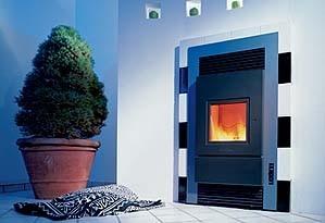schmid kachelofen und kaminbau pellet kamin fen. Black Bedroom Furniture Sets. Home Design Ideas